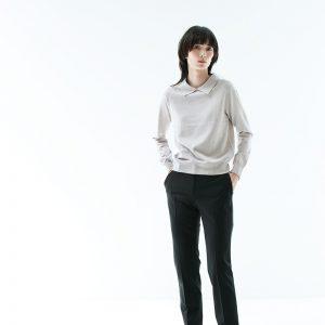Polo-Knit-モデル